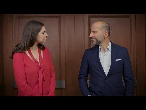 In the Elevator With Uber CEO Dara Khosrowshahi