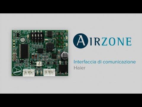 Installazione interfaccia di comunicazione Haier