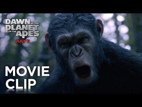 Dawn of the Planet of the Apes (1st Clip 'Go')