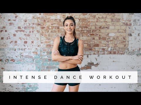강도 높은 댄스 운동