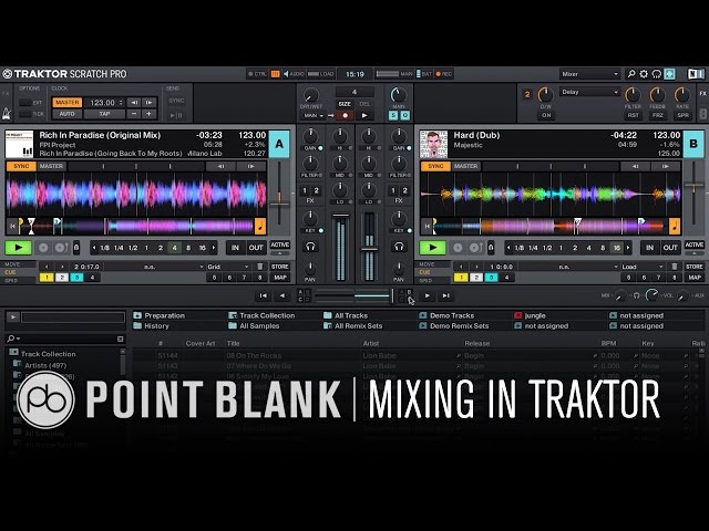 Traktor DJ Tutorial: Traktor for Beginners Part 2: Mixing