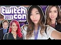 TWITCHCON 2017 VLOG! I SAW JENNA MARBLES AND CONAN O'BRIEN