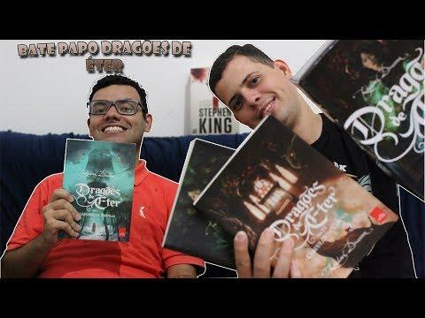 DRAGÕES DE ÉTER - BATE PAPO feat Marcos Aurélio | Alegria Literária