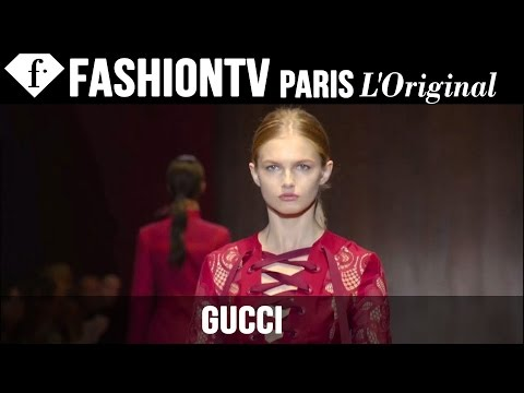 Fashion TV - http://www.FashionTV.com/videos MILAN - See the new Gucci collection for Spring/Summer 2015 on the runway during Milan Fashion Week. For franchising opportun...