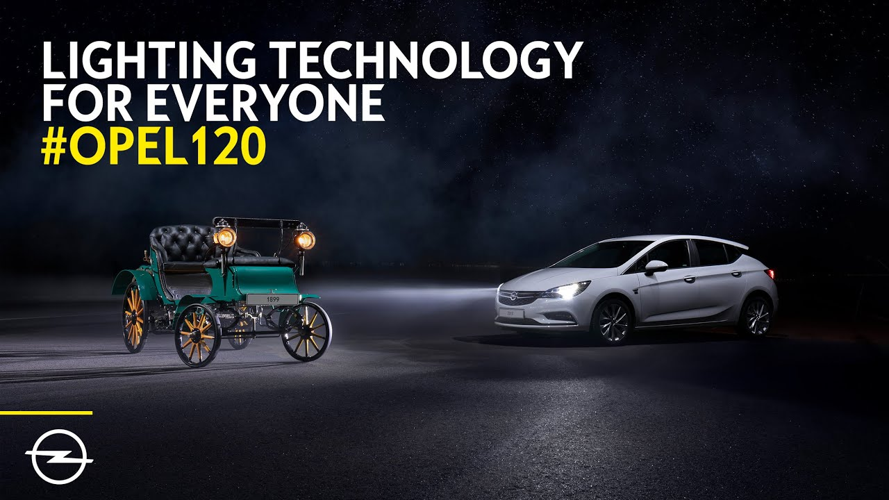 Opel: 120 Years of Lighting Technology for Everyone