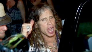 Steven Tyler & Joe Perry Leave After-Party on Sunset Following Aerosmith Hollywood Bowl Show