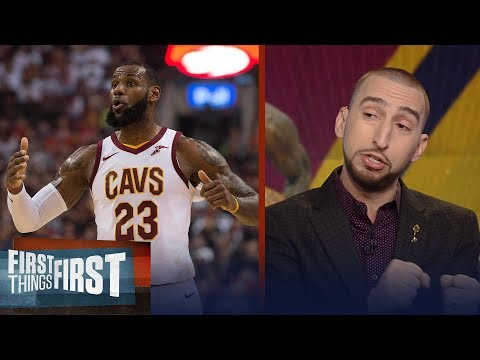 Nick Wright reacts to the Cavaliers losing by 34 points to the Raptors | FIRST THINGS FIRST