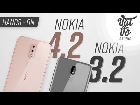 Trên tay bộ đôi giá rẻ Nokia 3.2 & 4.2 - Thời lượng: 2 phút, 6 giây.