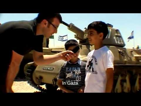 Israel teaches kids to hate and kill at an army museum