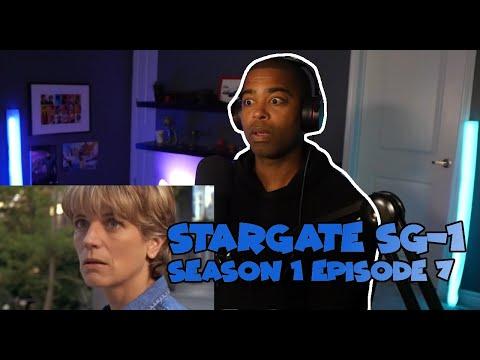 "Stargate SG-1 Season 1 Episode 7 ""Cold Lazarus"" ( JV REACTION )"