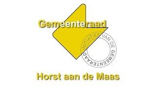 Wie Is De Gemeenteraad Van Horst Aan De Maas?
