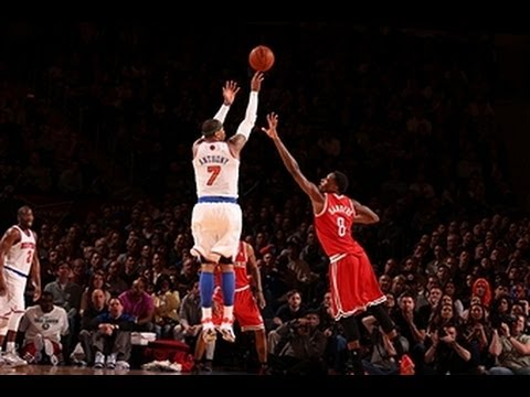 Carmelo Anthony scores 40+ points in 3 consecutive games