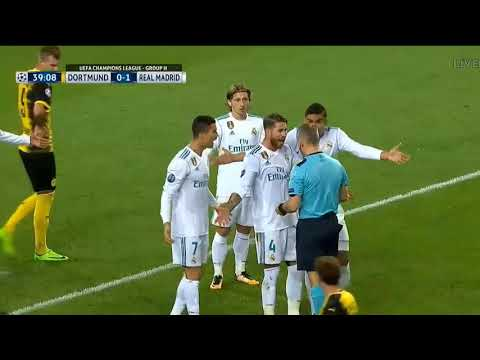 Real Madrid vs Borrusia Dortmund Champions League 2017-2018 3-1 All Goals and Highlights 26/09/2017