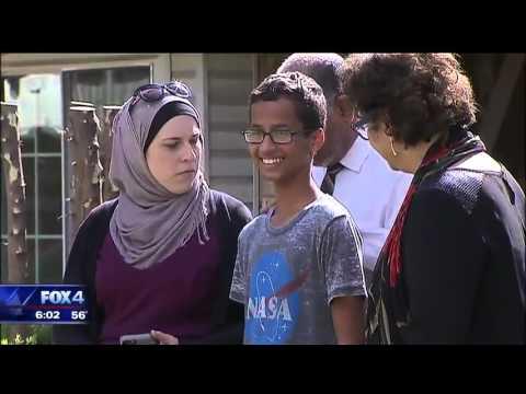 Ahmed Mohamed family wants $15 million from Irving, Irving ISD