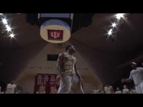 IU Football Dunk Contest - Stephen Houston video.
