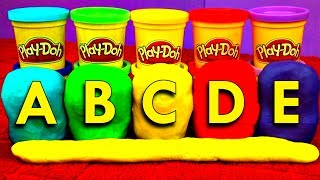 Play Doh Eggs Learn ABCs Hello Kitty Minnie Mouse Thomas Teletubbies Sonic Peppa Pig FluffyJet