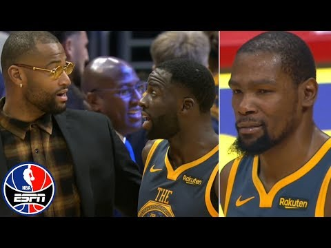 Video: Kevin Durant, Draymond Green get heated at end of regulation vs. Clippers | NBA on ESPN