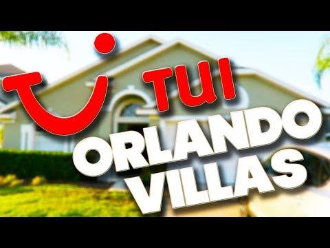 TUI - ORLANDO VILLA TOUR - GLENBROOK RESORT - FLORIDA (видео)