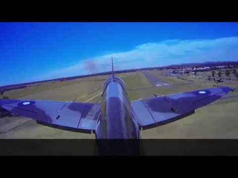 This footage was shot at the Temora...