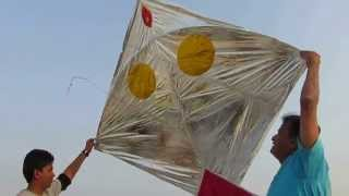 Flying Big Kite @vadodra utrayan 2014.