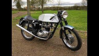 7. 1965 Triumph Bonneville Thruxton Spec Start Up