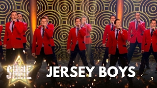 Programme website: http://bbc.in/2ggiX2B Jersey Boys perform a medley of songs