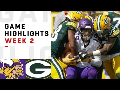 Vikings vs. Packers Week 2 Highlights | NFL 2018 (видео)