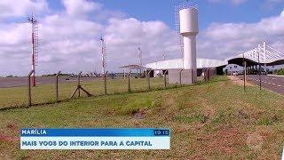 Companhia aérea anuncia mais voos entre o interior paulista e a Capital