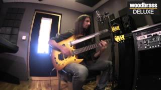 "Woodbrass Deluxe Session : Ron ""Bumblefoot"" Thal en live ""Little Brother Is Watching"""