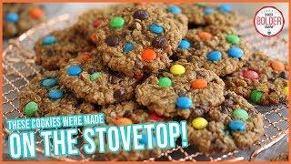 Easy Stovetop Cookies (No Oven Needed!) | Monster Cookies Recipe | Bigger Bolder Baking by Gemma's Bigger Bolder Baking