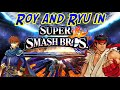 RUMOR: Files for Roy and Ryu found in newest Smash update!?