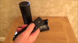 Hi, this video shows you how to setup the Amazon Echo Remote. The Remote cost me £20 from Amazon in the UK and it is very easy to setup and works really well.Thanks Vince