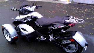 7. 2009 Can-am Spyder RS SE5