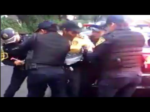 Arrestan a policía de tránsito; pidió 'mordida'