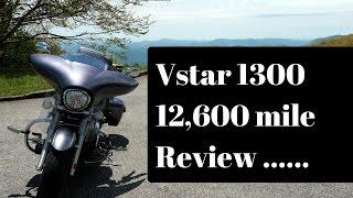 4. Vstar 1300 (2014) 12,600 review (The Long Term) Vlog#123