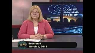 COM100  Session 9  Spring 2011