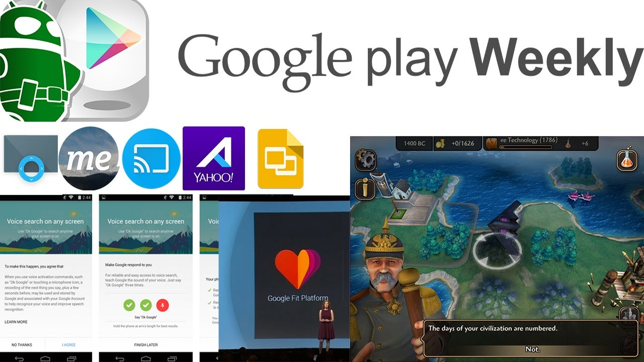 Apps at Google I/O, Yahoo Aviate exits beta, EverythingMe goes global – Google Play Weekly