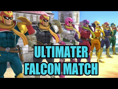 SSB - Ultimater Falcon Match