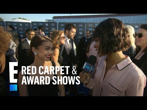 Sarah Hyland Cried During Oprah's Golden Globes Speech   E! Live from the Red Carpet