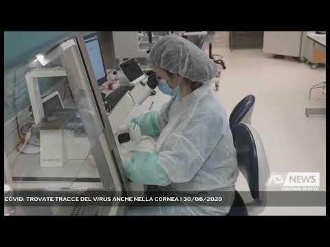 COVID: TROVATE TRACCE DEL VIRUS ANCHE NELLA CORNEA | 30/06/2020