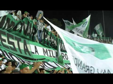 Los Del Sur- Verde vos sos la alegria del mundo entero / Nacional 4 - pasto 0 [HD] Ver en HD - Los del Sur - Atlético Nacional - Colombia - América del Sur
