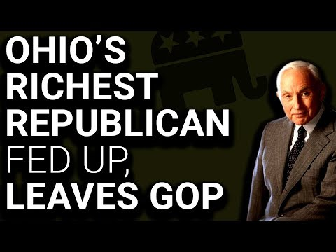 Obama Convinces Ohio's Richest Republican to Leave Party