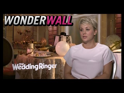 Kaley Cuoco Chats Marriage Fever on the Set of 'The Wedding Ringer'
