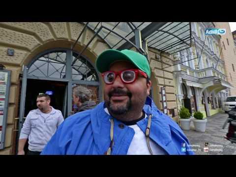 """الثلاثي أحمد فهمي وهشام ماجد وشيكو مقدمو برامج تلفزيونية في إعلان الحلقة الثانية من """"الفرنجة"""""""