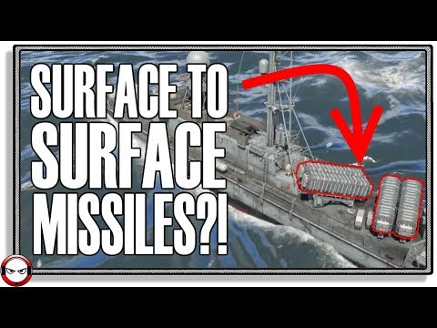Surface to Surface missiles soon? (War Thunder Naval Forces Gameplay)