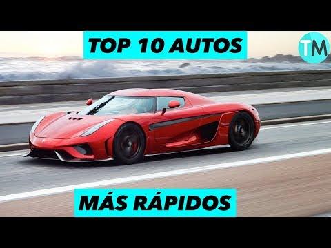 LOS 10 Autos MГs RГpidos Del Mundo 2017 - 2018