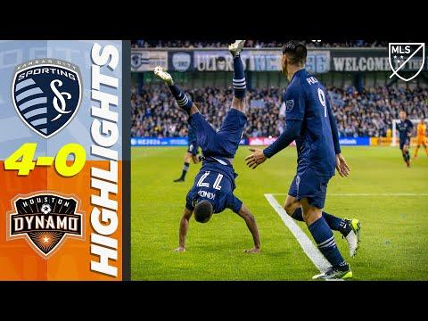 Sporting KC Kansas City 4-0 Houston Dynamo