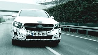 2017 Mercedes-Benz GLC Coupe - Teaser