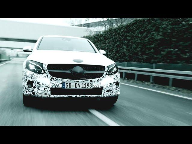 The new GLC Coupé: Teaser - Mercedes-Benz original