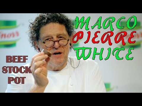 Marco Pierre White - Recipe for Beef Stock Pot